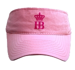 Light Pink Ladies Visor