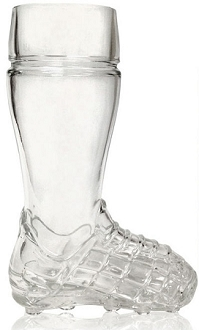 HB SOCCER Glass Boot 0.5L (17 oz)