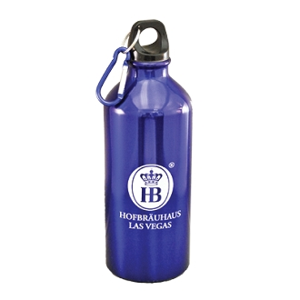 Aluminum Water Bottle with HB Logo