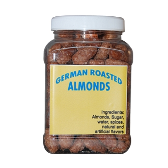 German Roasted Nuts Almonds/Pecans - Gift Jar