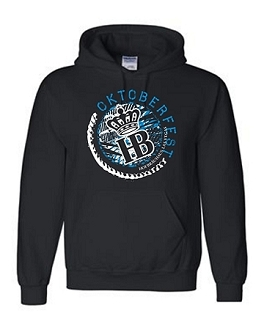 Hooded Sweatshirt 2017 HB Oktoberfest Circle Black