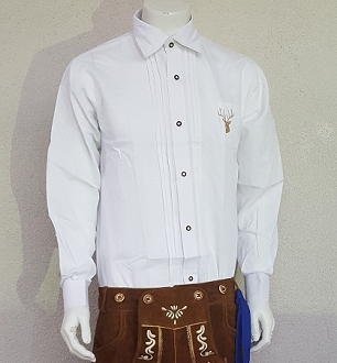 Bavarian Dress Shirt - White