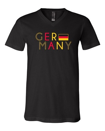 Germany with Flag T-Shirt