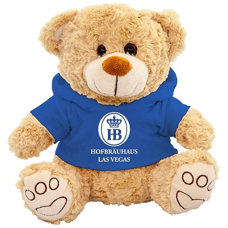 Teddy Bear with HB Hoody 10""
