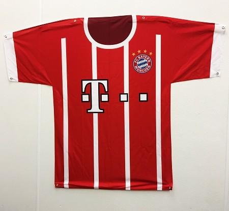 new concept a4bdb 71671 Big Jersey Banner FC Bayern München