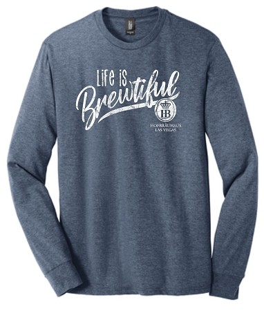 Long Sleeve Life is Brewtiful T-Shirt