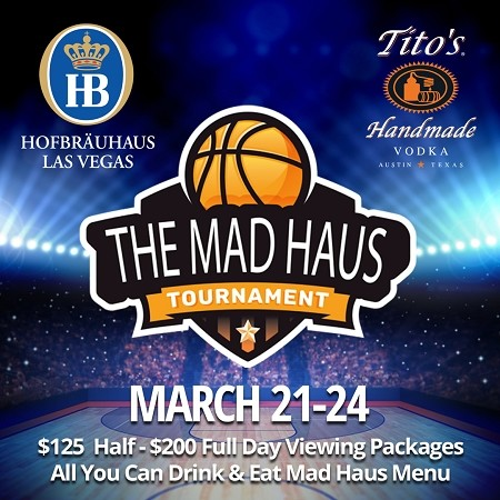 Mad Haus Package Deal - $125 half day and $200 full day all you can eat and drink packages