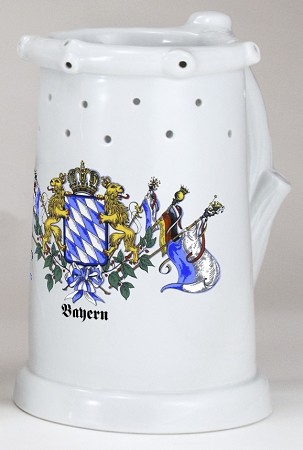 Puzzle Mug - Trick Beer Stein with Holes 0.5 L
