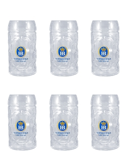 Case Pack- Hofbräuhaus Las Vegas Glass Stein 0.3L (10 oz)