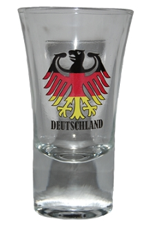 Shot German Eagle