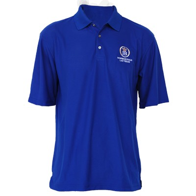 Polo Shirt 4C Logo - Royal