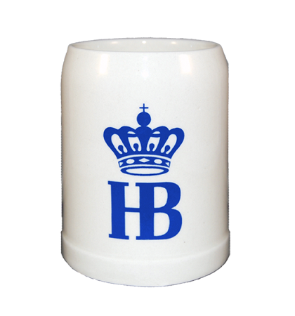 Coffee Mug with HB Crown Logo