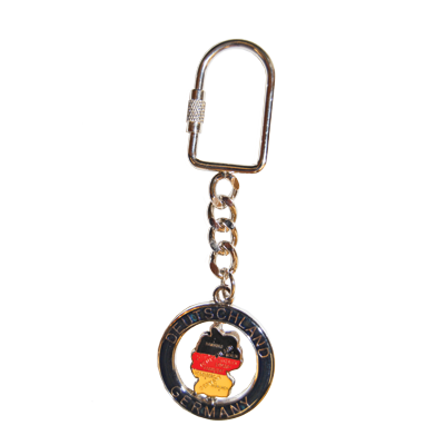 German Map Keychain